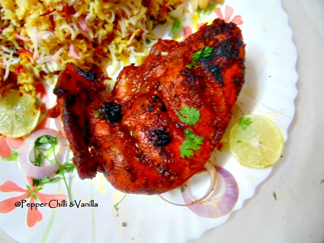 juicy succulent tandoori chicken without tandoor/oven