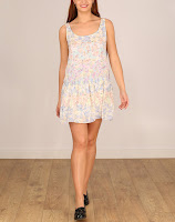 Rochie Stradivarius Light Flowers (Stradivarius)