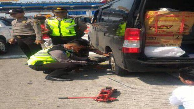 Sampai H-2, Satgas Lancar Polrestro Bekasi sudah 'menyervis' 11 unit mobil warga