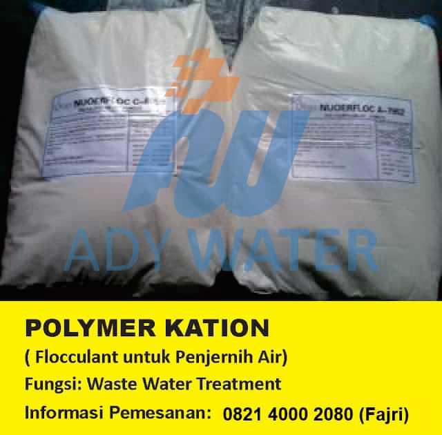 jual polimer kation harga polimer kation