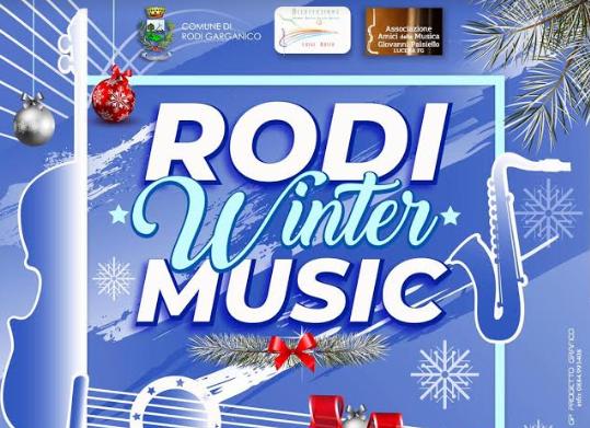 Nasce il Rodi Winter Music: nuova sfida culturale sul Gargano per un team di giovani artisti emergenti