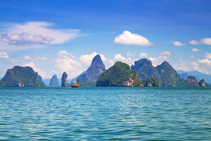 Phang Nga bay is one of the most picturesque areas of Thailand