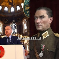 """Erdogan Berhasil Melepaskan """"Kutukan"""" Hagia Sophia, Bulat Menjadi Masjid!"""