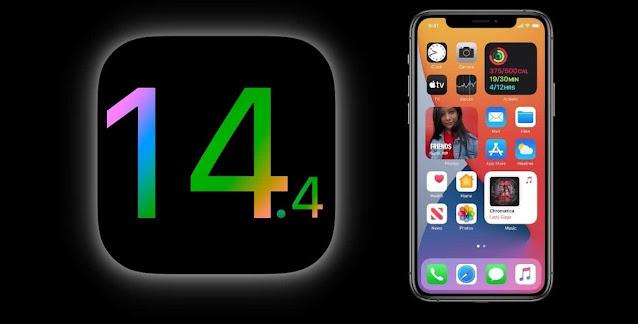 تحديث iOS 14.4 تحميل مباشر