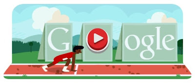 The Google Doodle know as Hurdles 2012