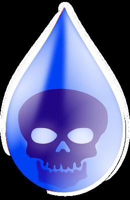 Water pollution,Denger,water drop