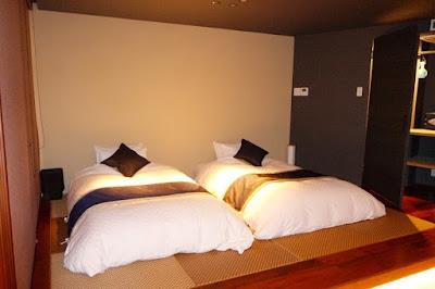 Botan Room in Hanayashiki Ukifuneen Uji Kyoto Japan