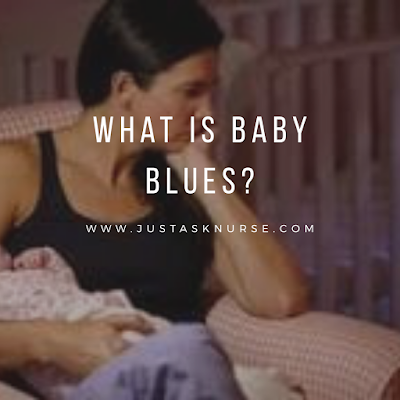 What is baby blues?
