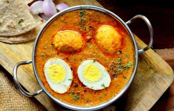 Egg curry recipes of India