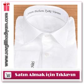 Erkeğe kişiye özel gömlek