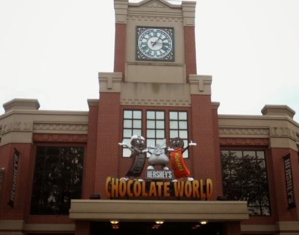 Hershey's Chocolate World in Hershey Pennsylvania