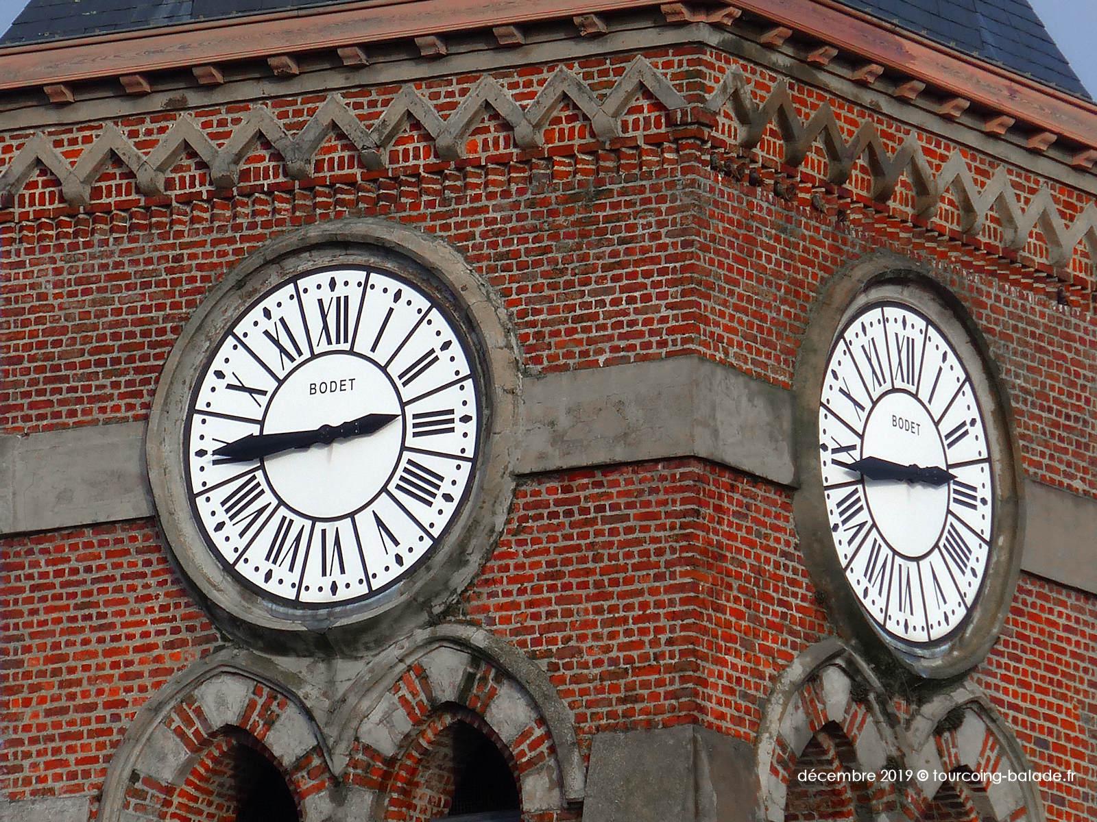 Horloge Bodet, Saint-Alphone, Halluin