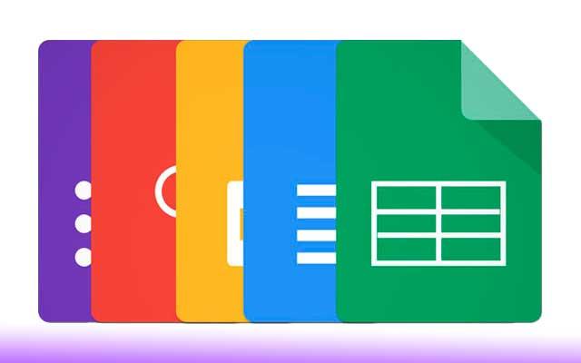 Atajos a Google Docs