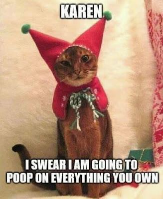 A little Christmas spirt