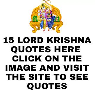 15 lord Krishna Quotes