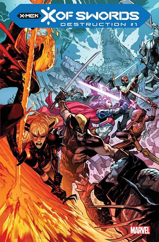 Cover of X of Swords Destruction #1