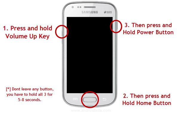 Samsung Galaxy Grand 2 LTE SM-G7105 hard reset