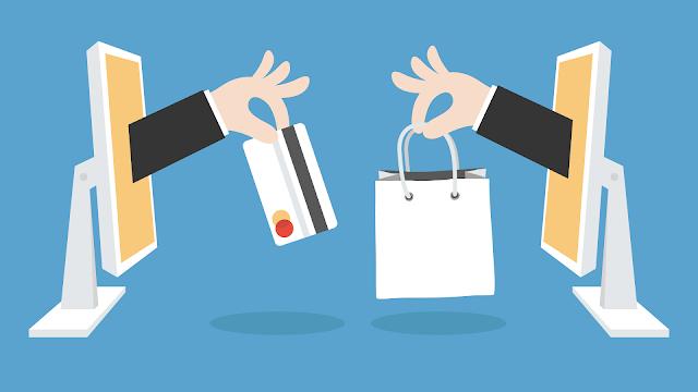 Tips Aman Belanja di Toko Online Terpercaya dan Bagus, Ilustrasi toko online jual beli transaksi online