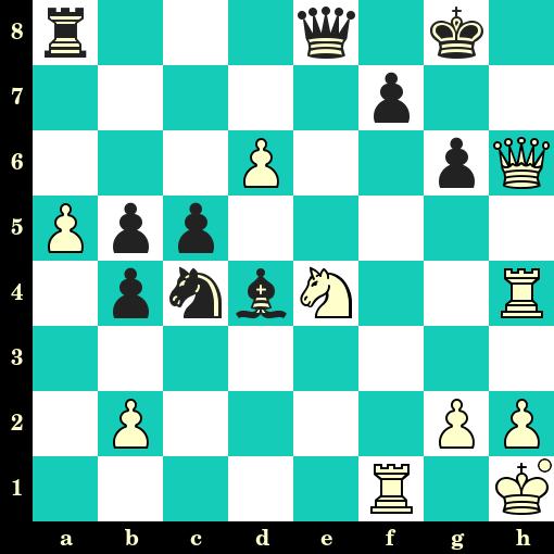 Les Blancs jouent et matent en 2 coups - Raymond Keene vs C Van Baarle, Berlin, 1980
