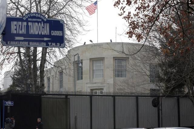 Άγκυρα: Ειδοποίηση της αμερικανικής πρεσβείας στην Άγκυρα για πιθανές επιθέσεις