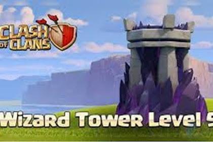 Wizard Tower Fitur Baru di Update COC TH 11