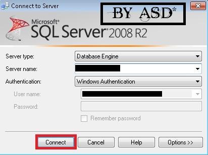 Iniciando la aplicacion SQL server 2008 R2