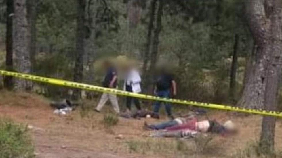 Torturan y ejecutan a 6 personas en Los Azufres; Michoacán