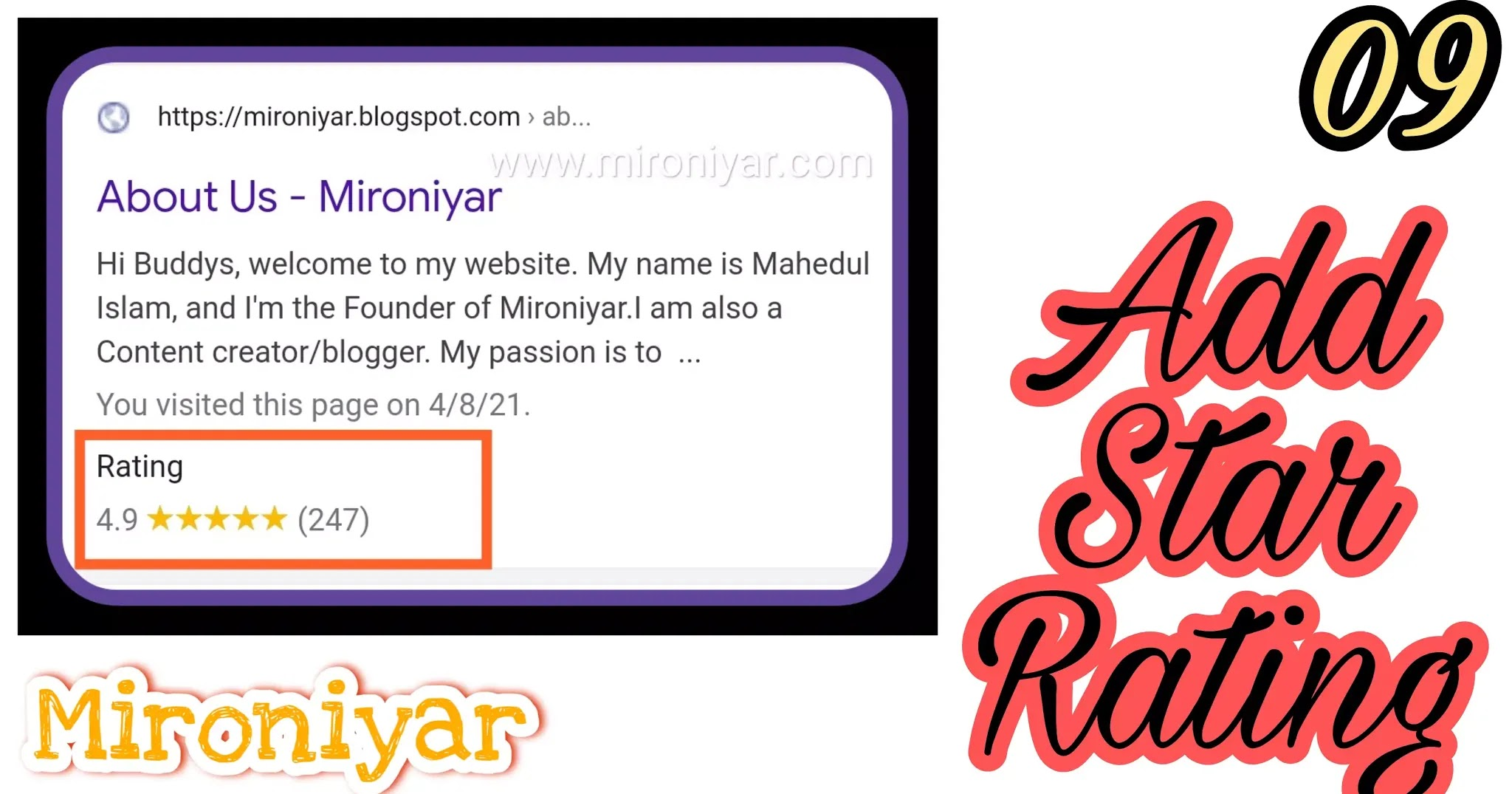 add a star rating to my website?, Add Review Star Rating In Blogger For Google Search Results?