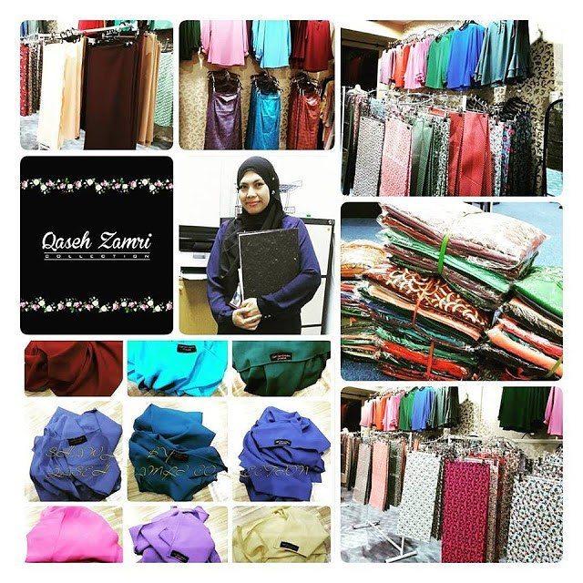 Butik Pilihan Baju Raya 2016 di Butik Qaseh Zamri Collection