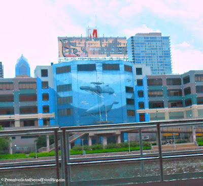 Wyland Whale Wall Mural in Philadelphia Pennsylvania