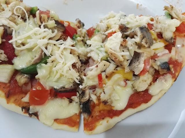 Cara membuat pizza crispy