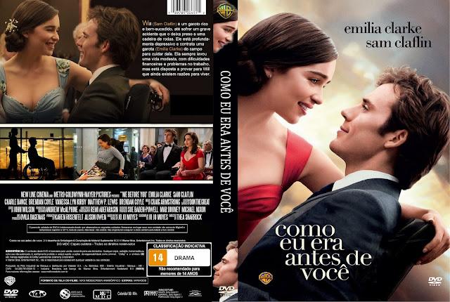 Capa DVD Como Eu Era Antes De Você