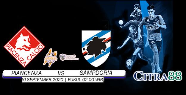 PREDIKSI PIANCENZA VS SAMPDORIA 10 SEPTEMBER 2020
