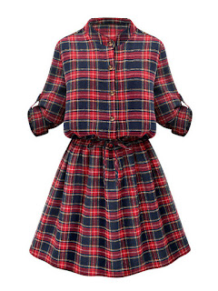 http://www.banggood.com/Casual-Women-Stand-Collar-Button-Plaid-Elastic-Waist-Pleated-Dress-p-1028930.html?utm_source=sns&utm_medium=redid&utm_campaign=naokawaii_10th&utm_content=chelsea