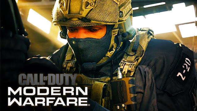 Call of Duty : Modern Warfare  اللعبة الأحدث والأجمل بوجود تقنية  تقنية تتبّع الأشعة Ray-Tracing