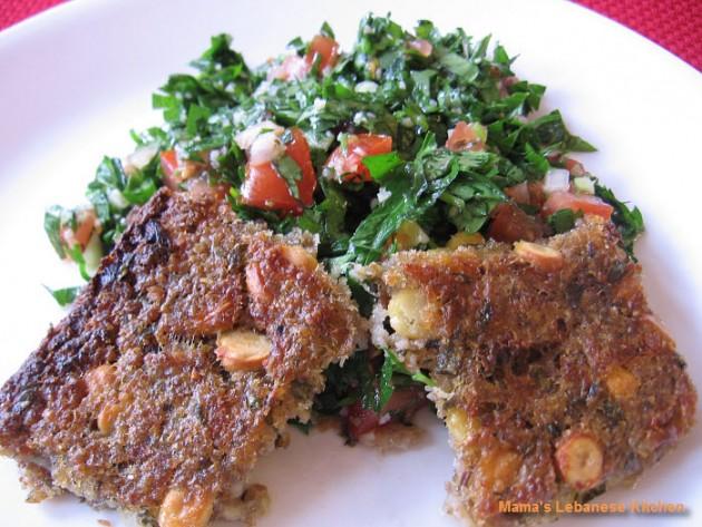 Lebanese Vegetarian Potato Kibbe