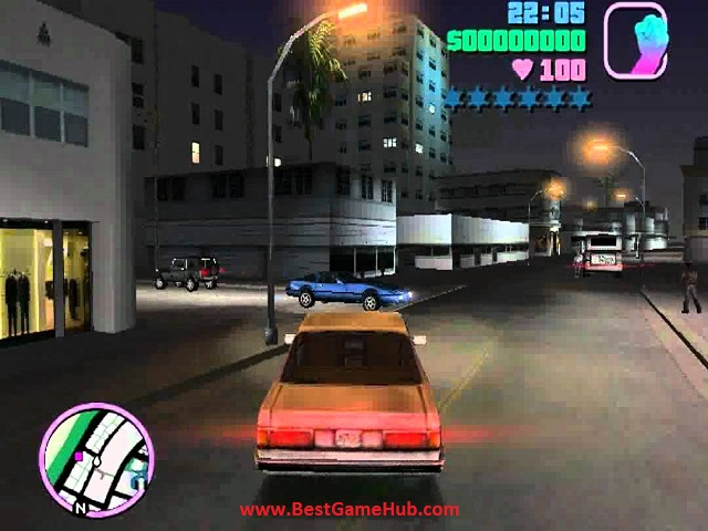 Grand Theft Auto - Vice City High Compressed Free Download - bestgamehub.com