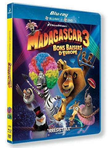 Madagascar 3 De Marcha por Europa 720p HD Español Latino Dual BRRip 2012
