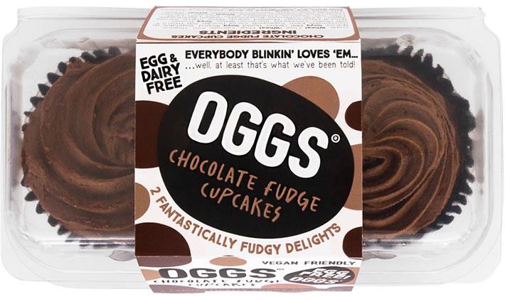 OGGS chocolate cupcakes