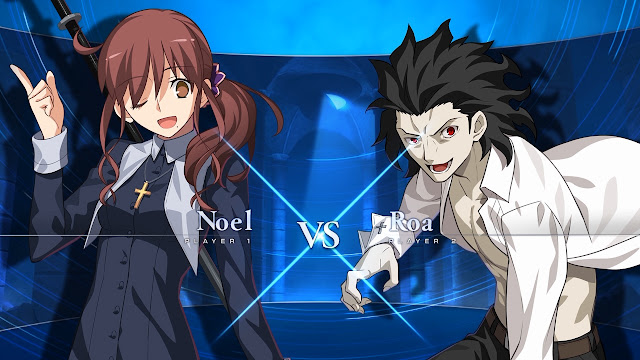 Melty Blood: Type Lumina (Switch): novo vídeo mostra luta entre Noel e Roa