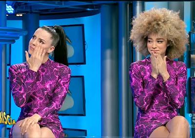 veline Shaila e Mikaela commosse lacrime ultima puntata Striscia La Notizia 12 giugno