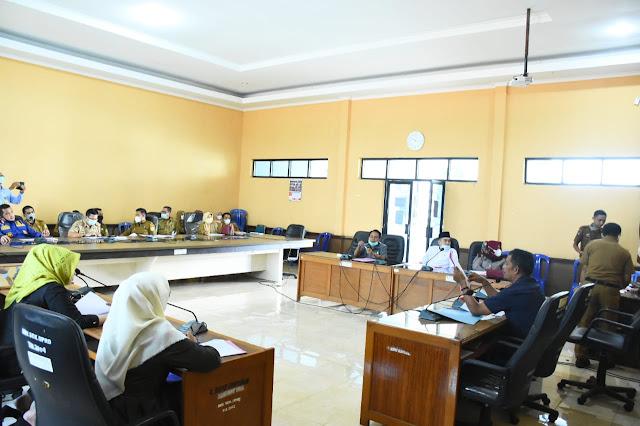 Komisi I DPRD Sinjai Rapat Kerja Bersama Mitra OPD