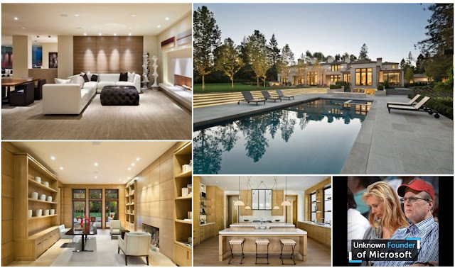 A Tour Inside Paul Allen's House The Businessman And Microsoft CEO