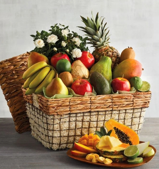 Send Your Birthday Wishes With Fruit Basket | Akif Imtiyaz
