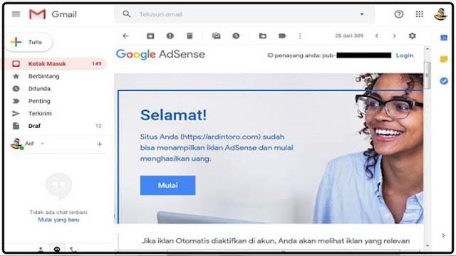 Cara Daftar Google Adsense agar di Terima