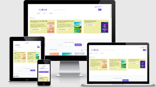 Template MyBook Blogger