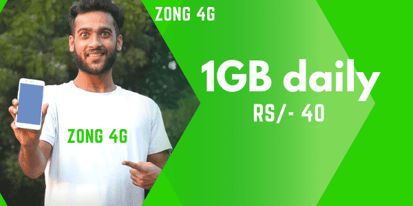 ZONG Daily Internet Package Code