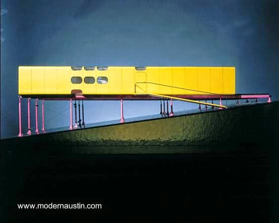 Imagen de un proyecto de casa prefabricada moderna semejante a casa compacta