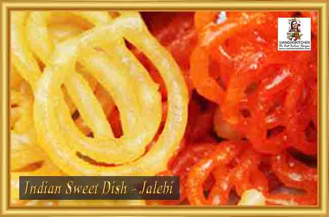 Indian Sweet Dishes - Jalebi
