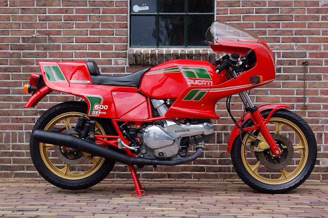 Ducati Pantah 600 1980s Italian classic sports bike